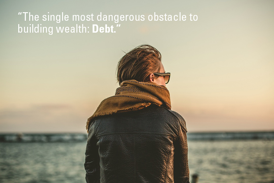 How to pay off debt: first change your mindset