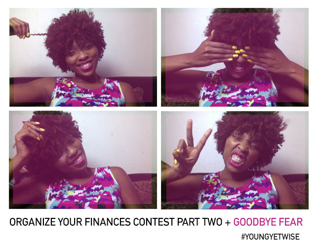 Organize your finances contest part two