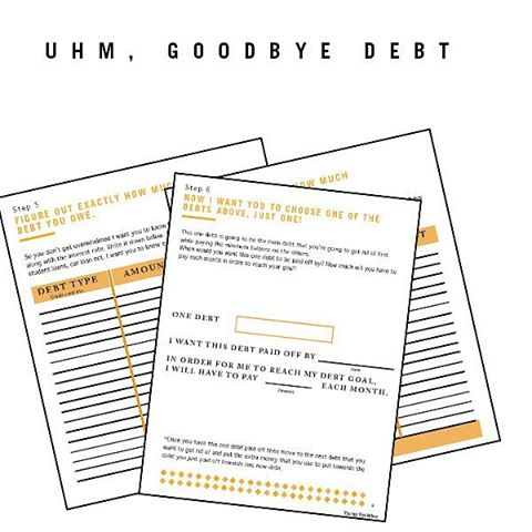 Soooo just wondering if y'all downloaded my #free slay your debt guide yet. And if you haven't what you waiting for?! Link in bio