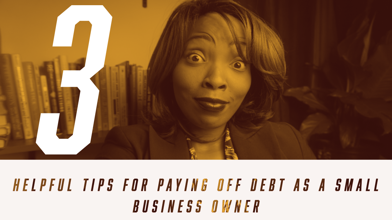 How pay off debt as a small business owner